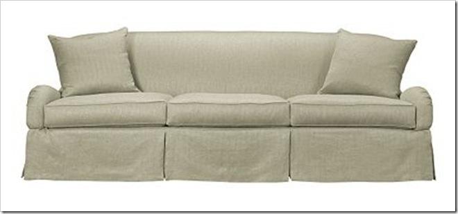 Hickory Chair Emory Skirted Sofa SK