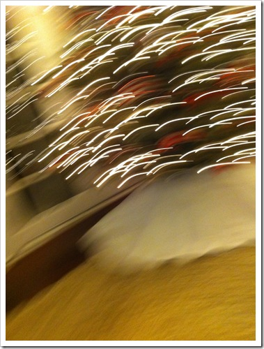 Blurred Christmas Lights