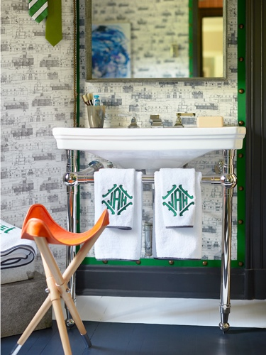 Lisa Mende Traci Zeller Adamsleigh Showhouse Sink