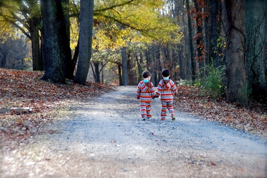 Twins Walking Their Own Path