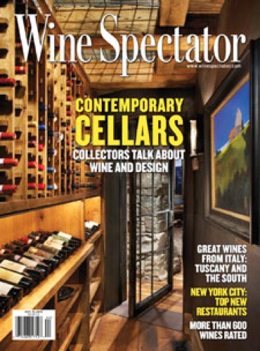 Wine Spectator Oct 31 2013 Cover