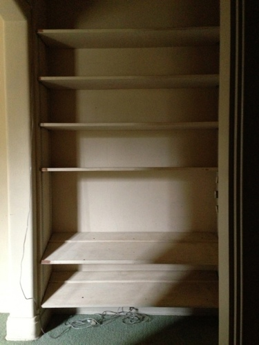 Adamsleigh Shelving Unit Before