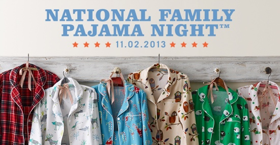 National Family PJ Night The Company Store