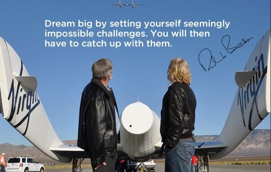 Richard Branson on How to Dream Big