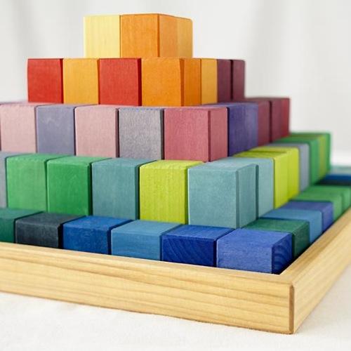 Land of Nod Greater Pyramid Blocks