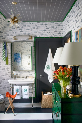 Lisa Mende Traci Zeller Adamsleigh Dressing Room Showhouse