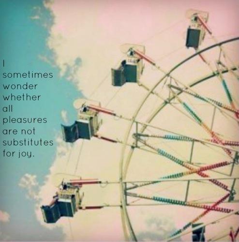 Are Pleasures Substitutes for Joy CS Lewis