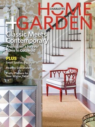 Charlotte Home Garden Winter 2013 Cover