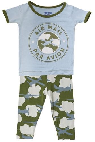 Kickee Pants Airplane Pajamas