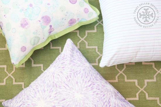 Traci Zeller Textiles in Sweet Pea