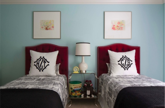 Traci Zeller Twins Bedroom by Logan Cyrus