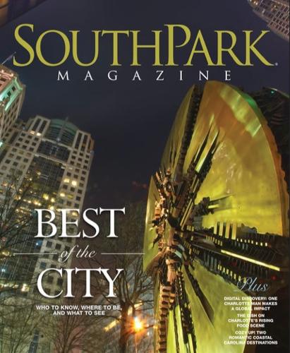 South Park Magazine February 2014 Cover