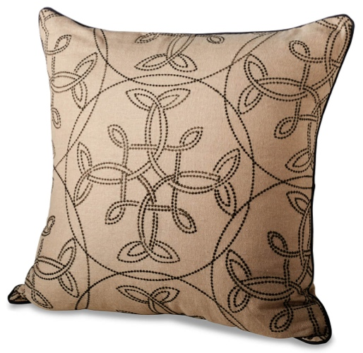 Traci Zeller Signature Embroidered Pillow