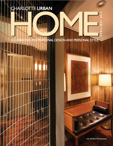Charlotte Urban Home Cover April May 2014