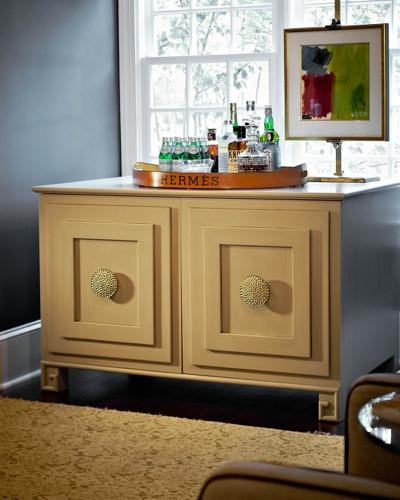 Traci Zeller Television Cabinet Wine Room