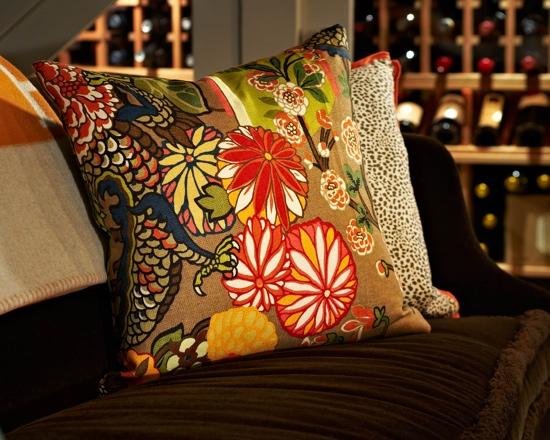Traci Zeller Wine Room Vignette