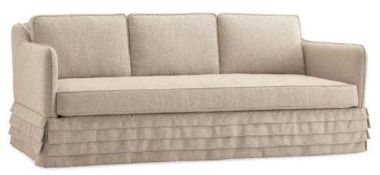 Caracole Com Pleat Sofa