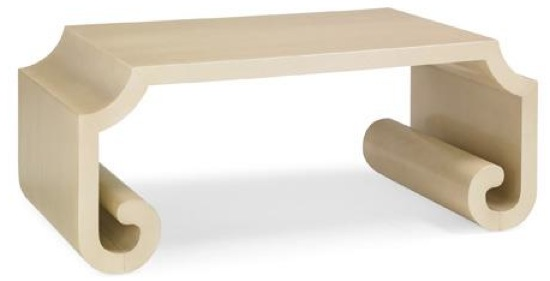 Caracole Curly-Q Cocktail Table