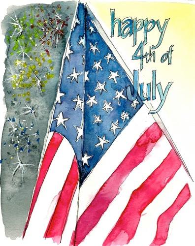 Happy July 4th Joan Borawski