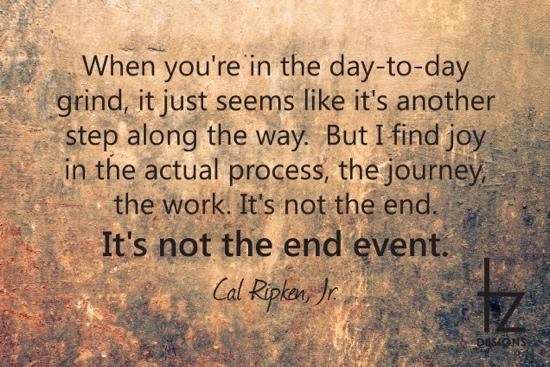 Joy Is In the Journey Cal Ripken
