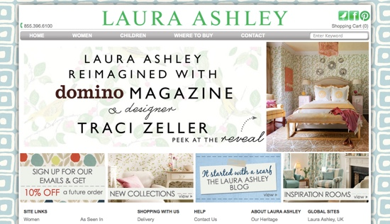 Laura Ashley Home Page July 27 2014
