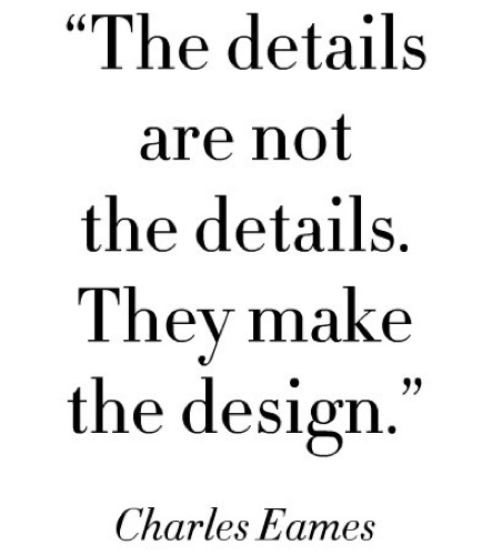 The Details Are Not the Details Charles Eames