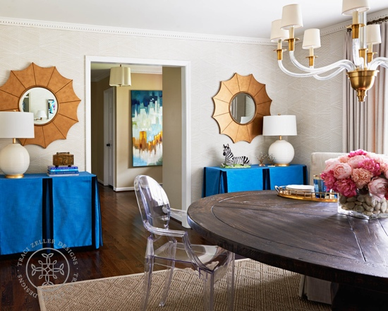 Traci Zeller Designs Double Duty Dining Room 2