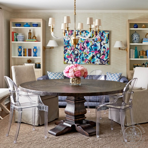 Traci Zeller Designs Double Duty Dining Room