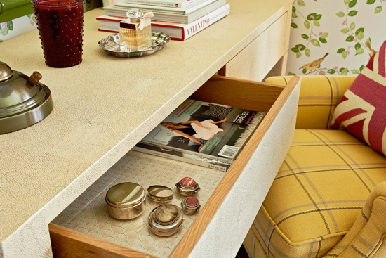Traci Zeller Laura Ashley for Domino Desk Drawer Vignette