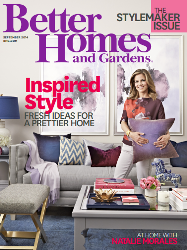 Better Homes and Gardens September 2014 TB Bench