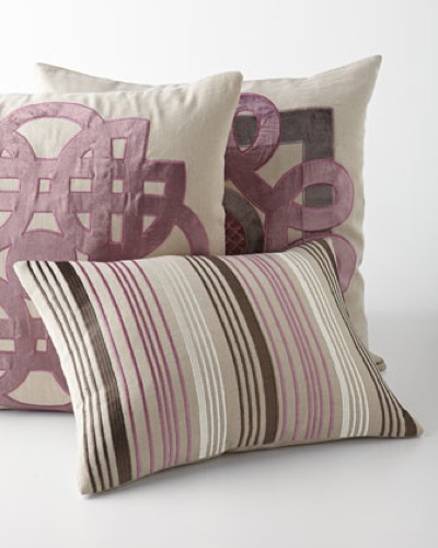 Horchow Mavis Pillow Collection