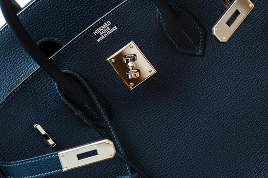 Hermes Birkin Closeup