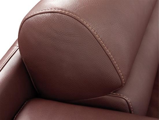 Schillig Leather Closeup