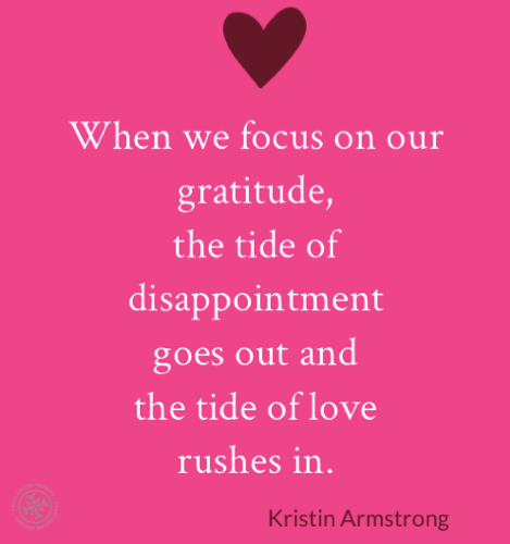 Focus on Gratitude Kristin Armstrong