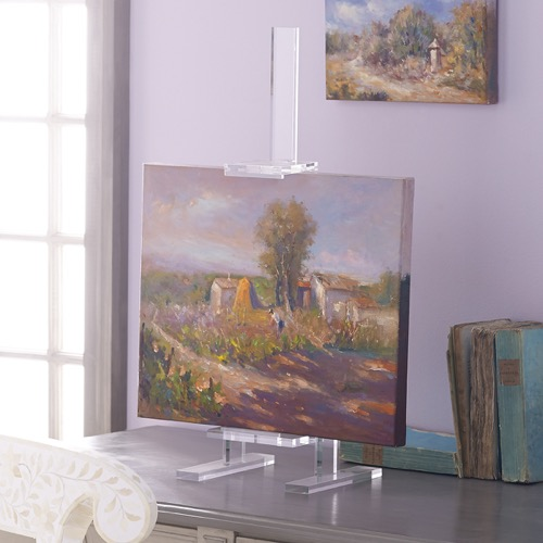 Wisteria Lucite Easel T12052_02