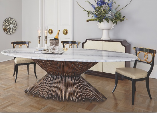 Ambella Home Pick Up Sticks Dining Table