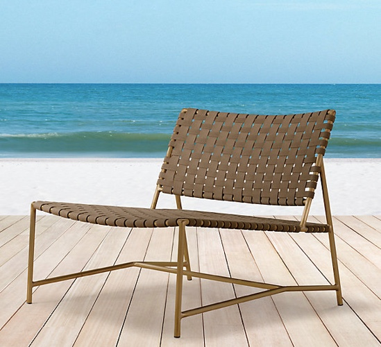 RH Montecito Lounge Chair