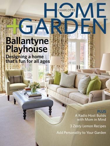 Charlotte Home Garden Spring 2015 Cover