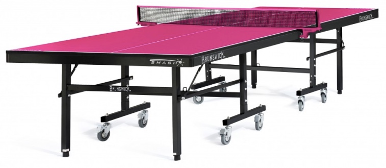 Brunswick Bright Pink Smash Table Tennis
