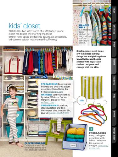 BHG August 2015 Kids Closet 1