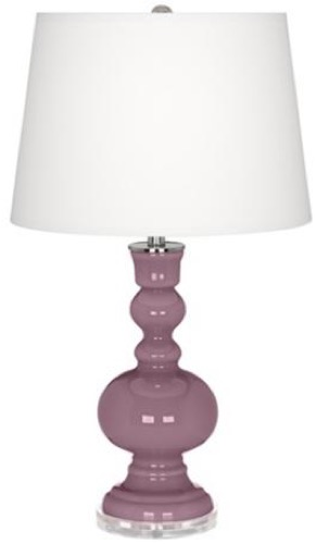 Lamps Plus Apothecary Table Lamp Plum Dandy