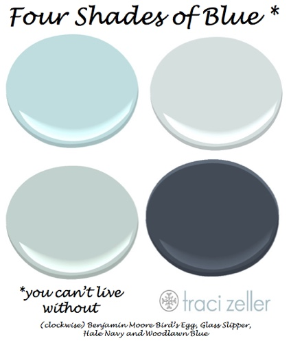 Four Shades of Blue You Can't Live Without