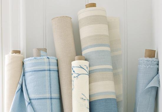 Laura Ashley Blue Fabric