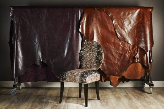 Brentwood Classics Leather Cut Velvet Fabrics