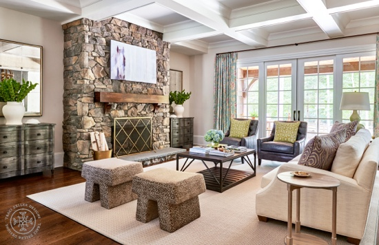 HomeArama 2015 Cheval Living Room Traci Zeller Designs