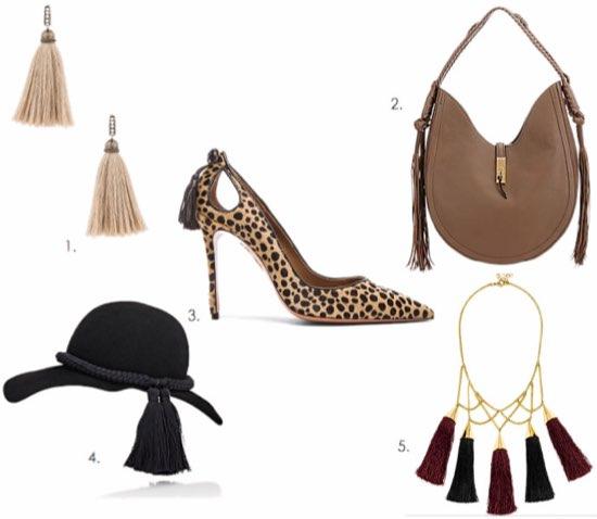 Tassel Trend in Fashion