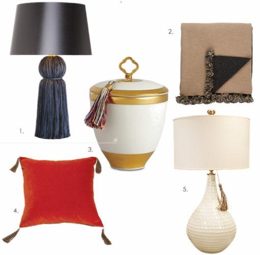 Tassel Trend in Interior Design