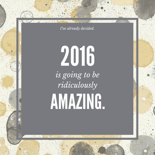 2016 Ridiculously Amazing