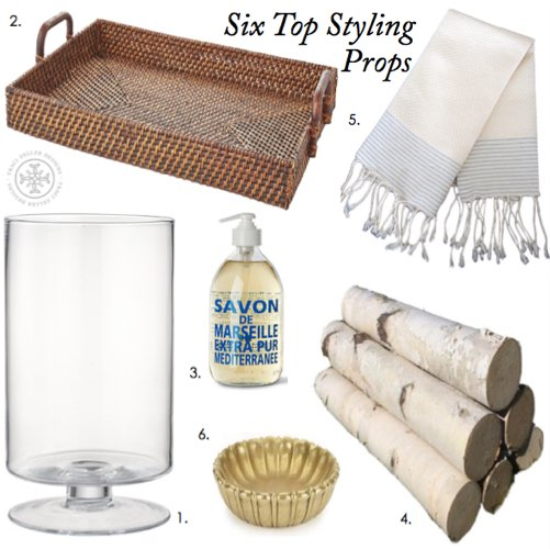 Six Top Styling Props