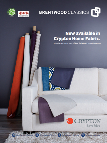 Brentwood Classics Crypton Home Fabric